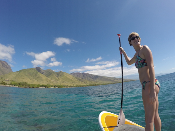 explore maui activities Stand up paddle maui lessons