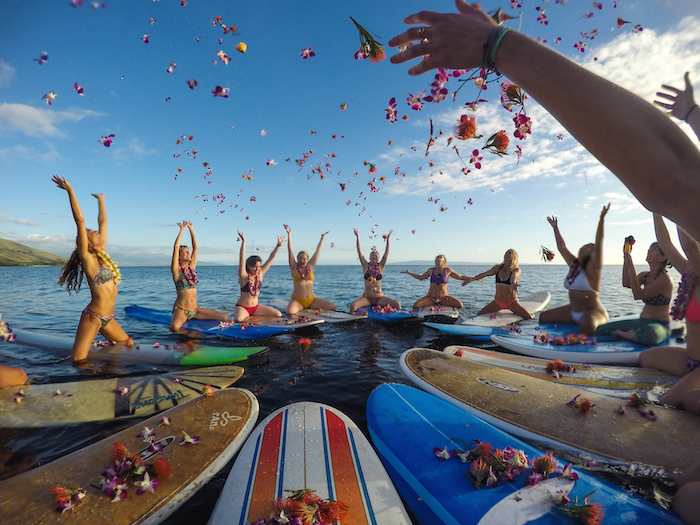 Overnight Surf Camp maui surf retreat womens surf retreat