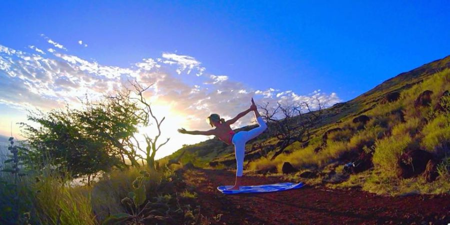 female surf instructors maui yoga instructors