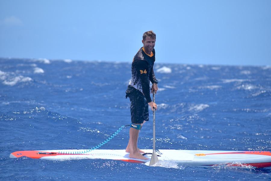 josh riccio maui SUP paddle surfer racer