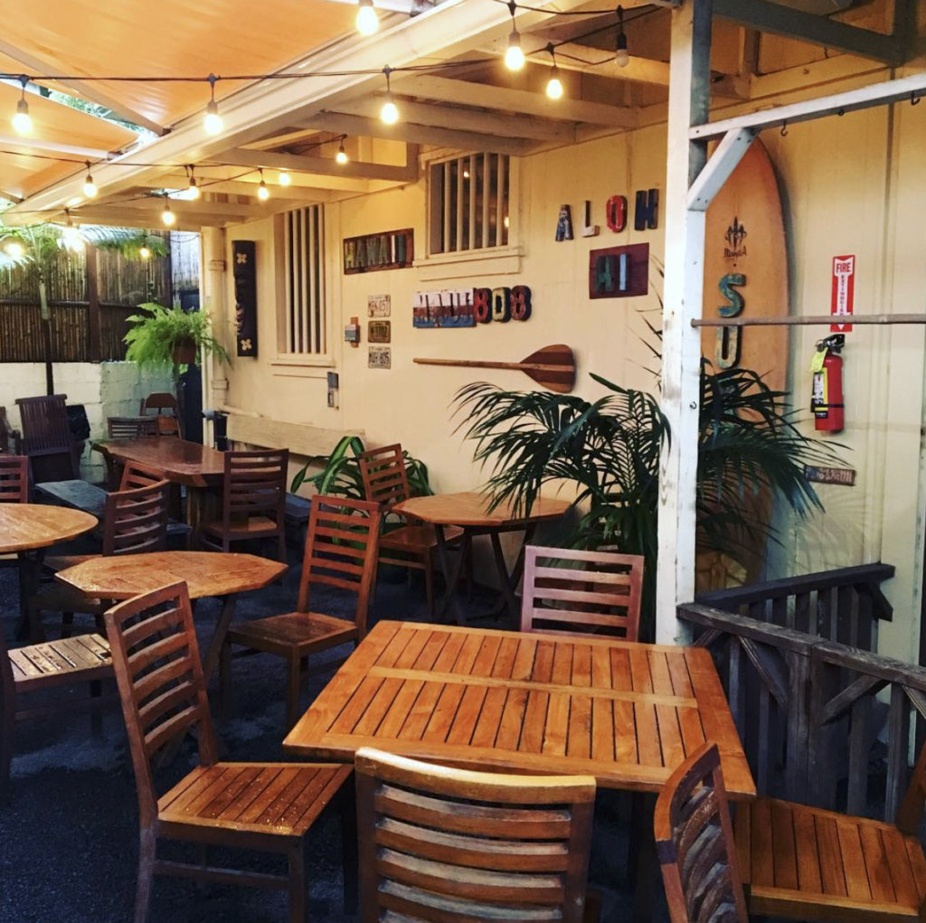 Cafe Des Amis hours 2021 paia maui restaurants now open covid open air restaurants